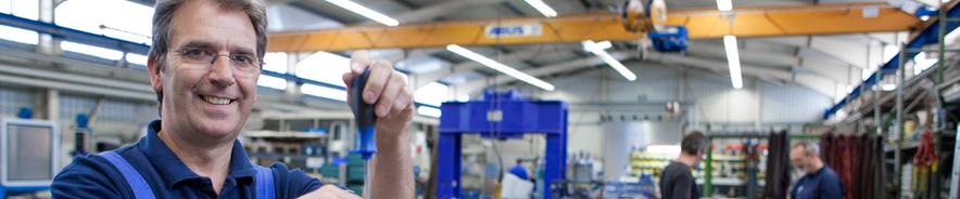 machineonderhoud en machinebouw